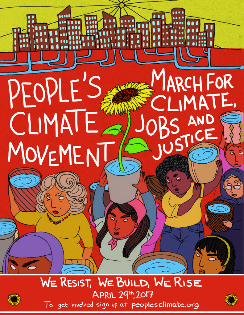 People's Climate March on 4.29.17
