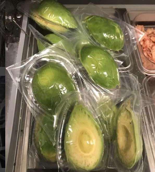 avocados pointless plastic