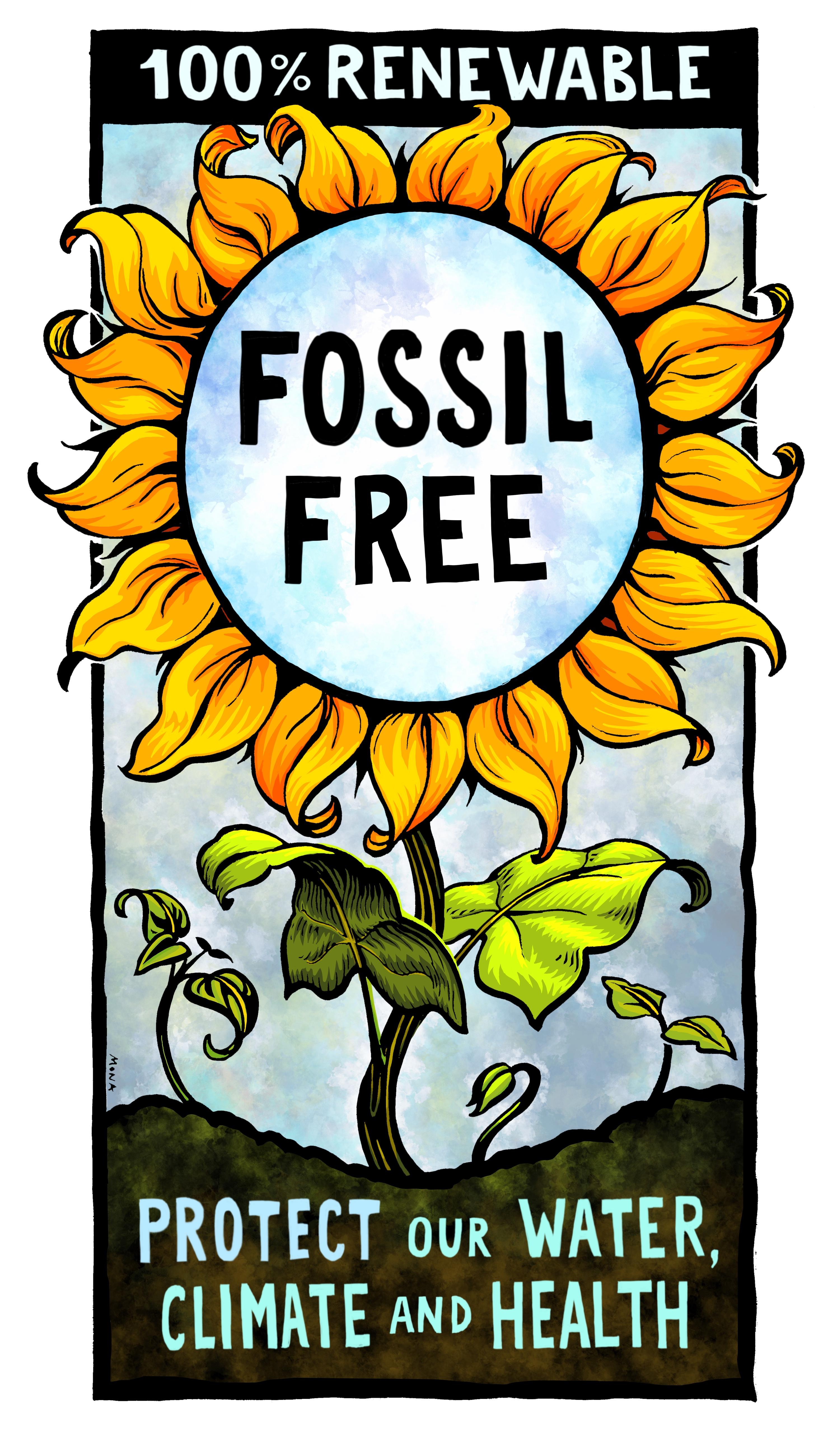 FOSSIL FREE MONA CARON